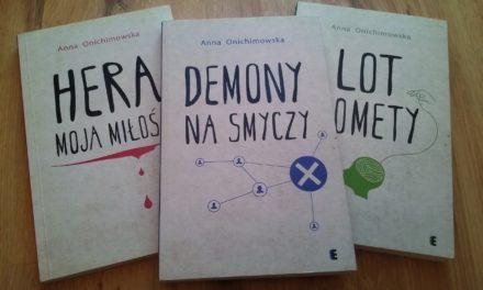 Demony na smyczy – tom III trylogii Anny Onichimowskiej